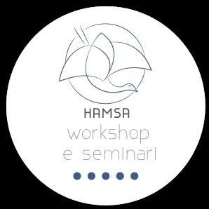 logo workshop seminari crescita personale hamsa